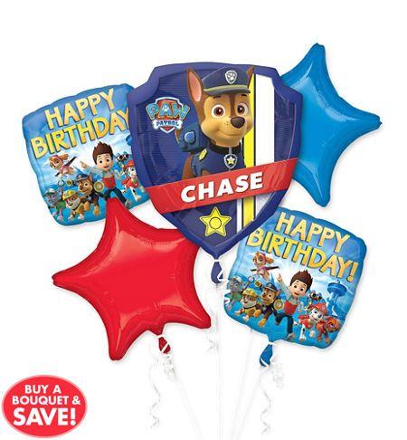 PAW Patrol Balloons - PAW Patrol Birthday Balloons - Party City $15.99
