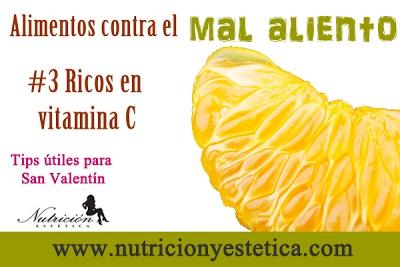 La vitamina C puede detener el olor que causan las bacterias   y neutralizar los olores de los alimentos que......    Para mas informacion encuentranos en: http://nutricionylaestetica.blogspot.com/2013/02/3-ricos-en-vitamina-c-alimentos-contra.html
