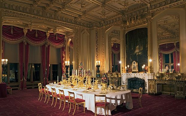 42 best images about windsor castle interior on for Dining room 28 queen street