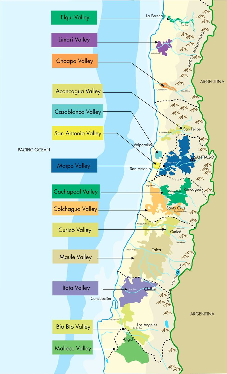 Chilean Wine Valley's