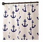 Nautical Shower Curtains Anchor 84