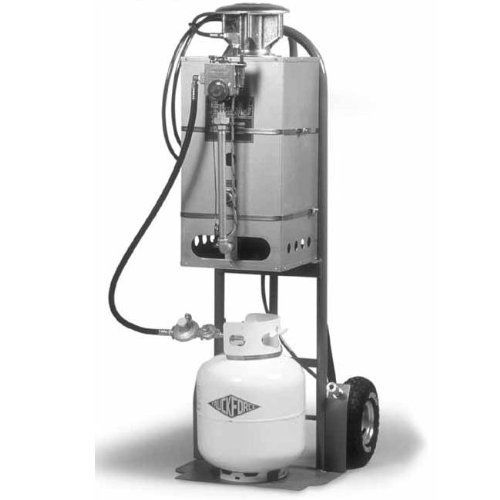 MasterBlend: TruckForce Little Giant Propane Heater by MasterBlend. $2848.75. TruckForce Heater – Portable High pressure Water Heater The TRUCKFORCE HEATER is a dolly mounted Little Giant Model 2HT LPG (Propane) Water Heater with a 5 gal. propane tank. You will be cleaning with 210° F heat instantly and maintaining this high heat consistently. This is Truckmount Heat! Remember more heat means your cleaning products work harder for you. The heater is safe to use and d...