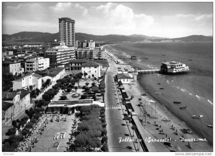 Follonica City - Old Photo