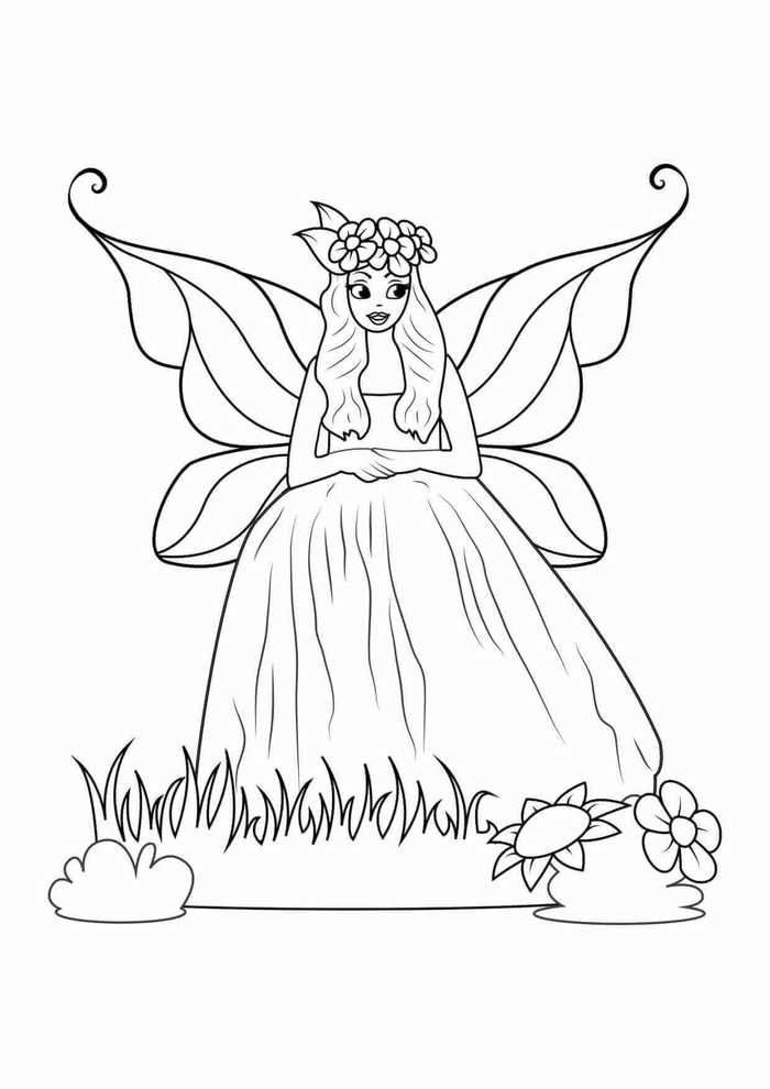 Printable Coloring Pages For Girls Fairy Coloring Pages Unicorn Coloring Pages Fairy Coloring