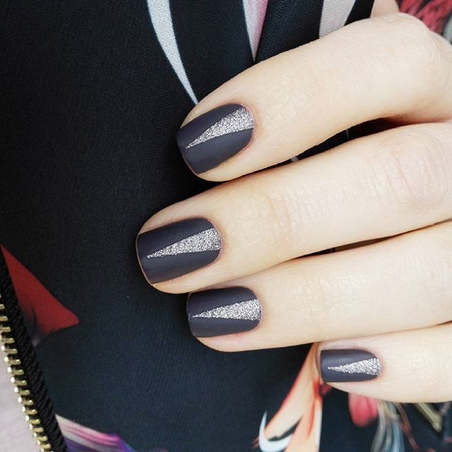 #2 aus der #crystalgarden Kollektion und #794 von @artdeco_cosmetics  #notd #nails #nailart #naildesign #artdeco #nagellack #nailpolish