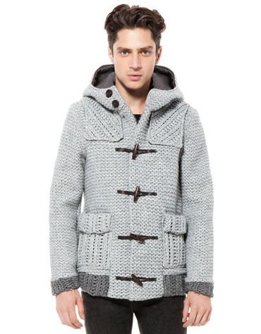 Bershka Turkey - Toggle wool jacket