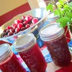 A simple recipe of plums, sugar, pectin, and a little butter makes a delicious homemade jam.