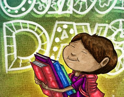 """Check out new work on my @Behance portfolio: """"School Days Book Illustrations"""" http://be.net/gallery/33056813/School-Days-Book-Illustrations"""