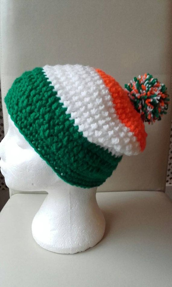 Check out this item in my Etsy shop https://www.etsy.com/uk/listing/508712155/st-patrick-hat-crochet-adult-hat-beanie