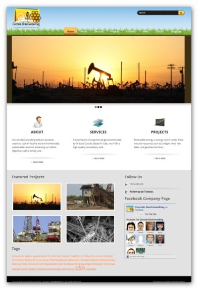 Corporate Identity - Website