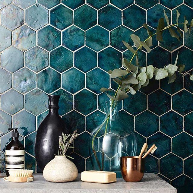 WEBSTA @ handmade_tile - Handmade tiles for inspiration PLAKART ceramics. @domustiles @newterracotta