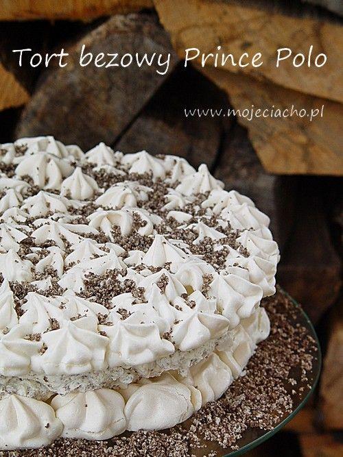 Tort bezowy Prince Polo | MOJE CIACHO
