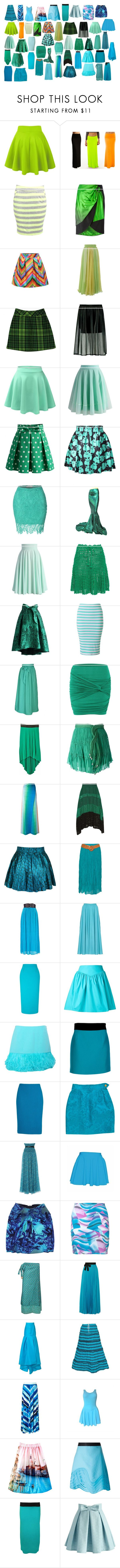 """""""Skirts 8"""" by spellcasters ❤ liked on Polyvore featuring Stylista Original, Maison Margiela, Chicwish, Anna Sui, LE3NO, Helen Rödel, Miss Selfridge, jon & anna, Jay Ahr and Missoni"""