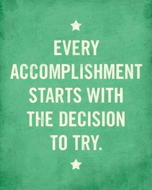 Twitter / actionhappiness: Every accomplishment starts ...