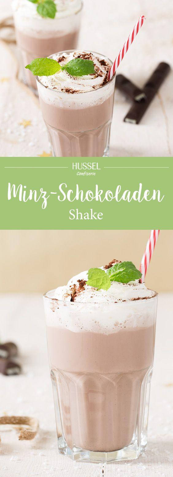 Minz-Schokoladen-Shake - Hussel Confiserie