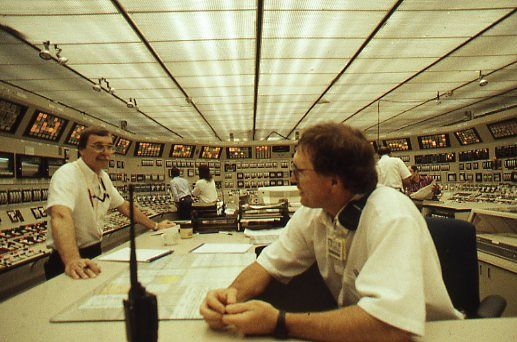 NUCLEAR APOCALYPSE IN JAPAN LIFTING THE VEIL OF NUCLEAR CATASTROPHE AND COVER-UP A Doomsday Scenario Unfolds With Characteristic Foolishness 18 March 2011. Image:The control room at the Watts Bar Nuclear Power Station, Tennessee. Photo c. keith harmon snow, 1994.