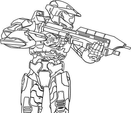 9 best Halo 5 4 3 Reach Coloring Pages images on Pinterest | Halo 5 ...