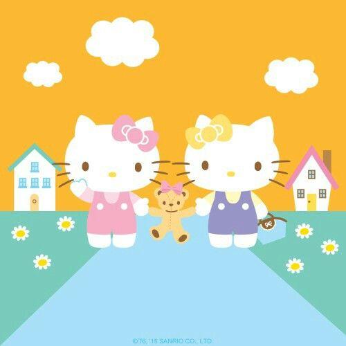 Kitty et mimmy hello kitty hello kitty kitty sanrio hello kitty - Hello kitty et mimi ...