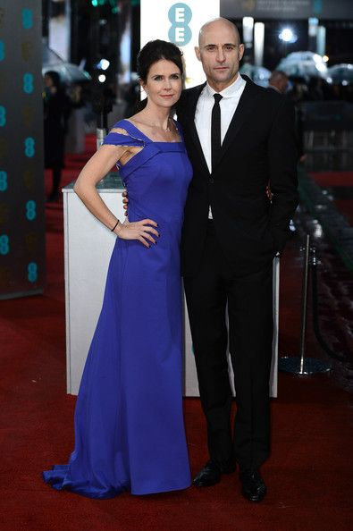 Mark Strong, Liza Marshall 2013 BAFTAs