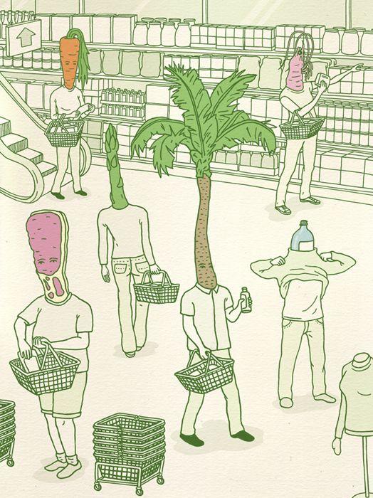 Editorial Illustration - Andrew Rae
