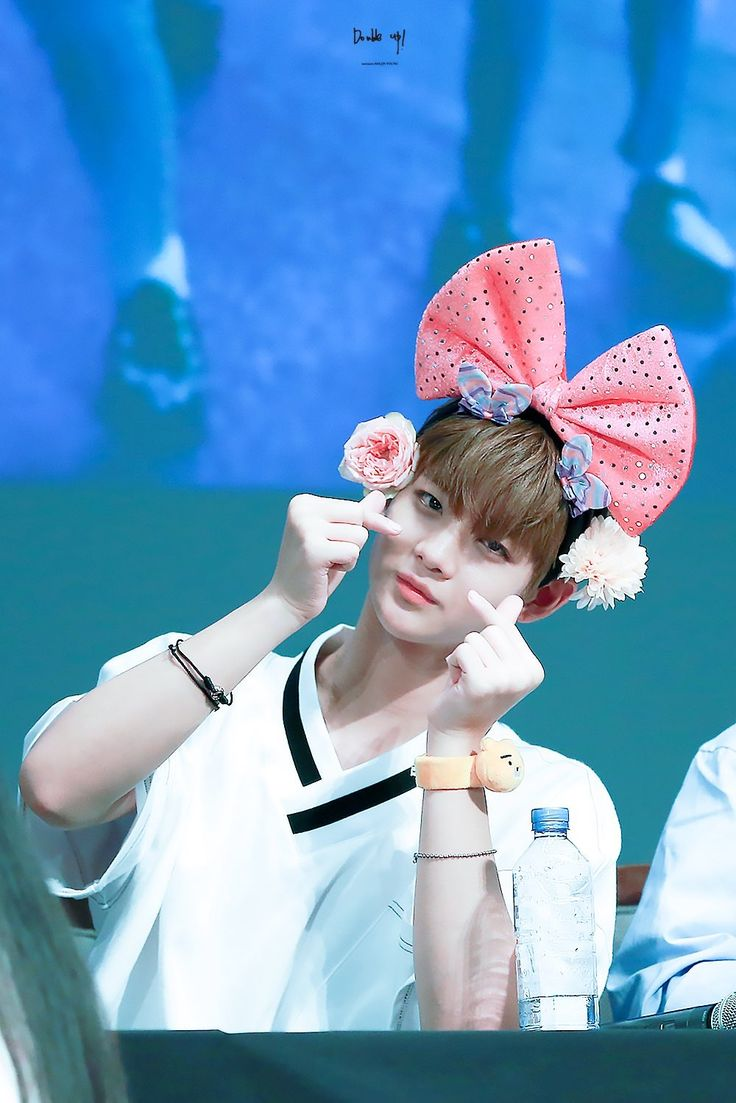 Bae Jinyoung being cute.. but indeed so cute ><