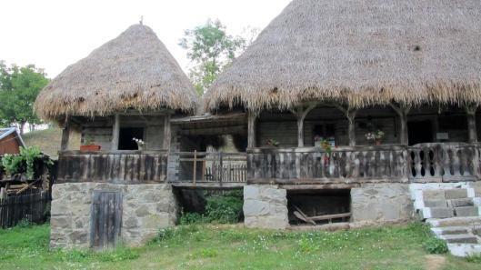 Alba XVIII Romania traditional romanian house rural romanians