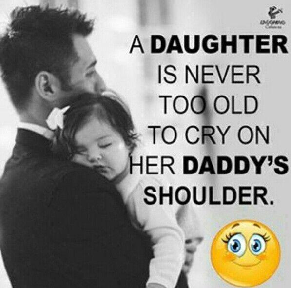 So true daddy's little girl
