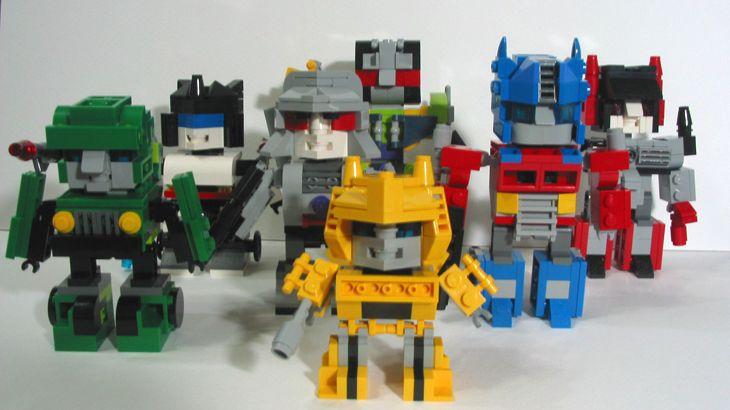 LEGO Ideas - Mini Bricks Transformers