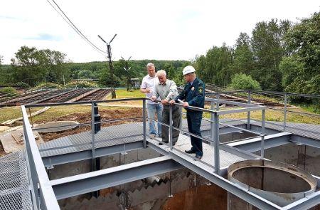 В Домодедово проверяют реконструкцию сооружений очистки сточных вод - Сайт города Домодедово