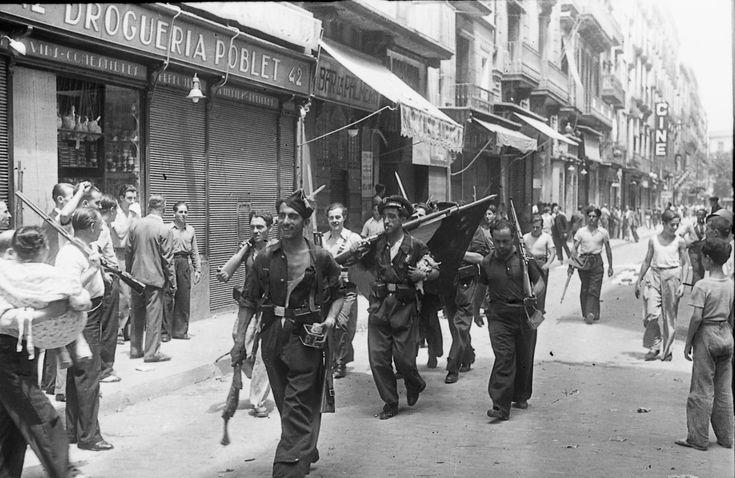 Barcelona, juliol 1936 /Photographer Agustí Centelles
