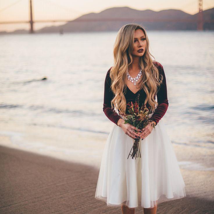 Ivory tulle skirt by Bliss Tulle