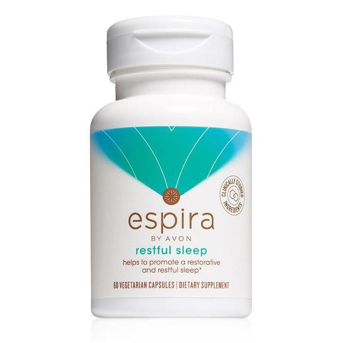 Espira Restful Sleep Supplement! Shop my Online Store and order from anywhere and have shipped direct to you. http://m3imagination.avonrepresentative.com . . . #avon #accessories #gadgets #decor #home #clothing #jewelry  #lipstick #deals #men #makeup #family #pic #photooftheday #gifts #gift  #giftset #happy #shopping #nailpolish #beauty #fashion #health #nutrition #wellness