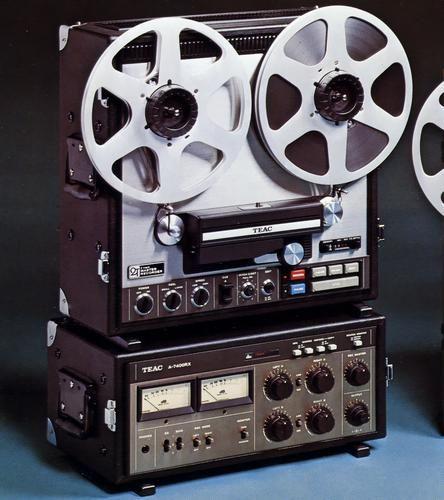 TEAC A-7400RX - www.remix-numerisation.fr - Rendez vos souvenirs durables ! - Sauvegarde - Transfert - Copie - Digitalisation - Restauration de bande magnétique Audio - MiniDisc - Cassette Audio et Cassette VHS - VHSC - SVHSC - Video8 - Hi8 - Digital8 - MiniDv - Laserdisc - Bobine fil d'acier - Micro-cassette - Digitalisation audio - Elcaset