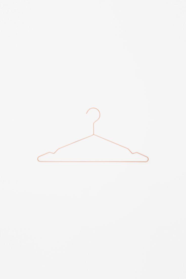 COS, HAY, metal coat hangers
