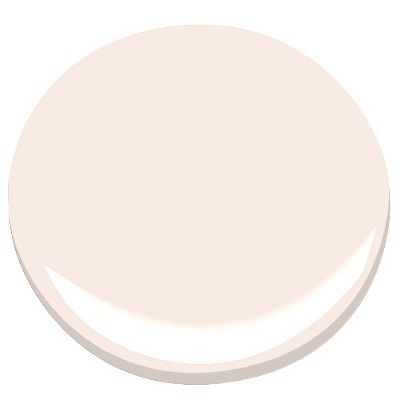 shell pink by ben moore 883  Reminiscent of the warm glow of sunset on the beach, this barely-there shade of pink is favored for a little girl's bedroom or powder room.