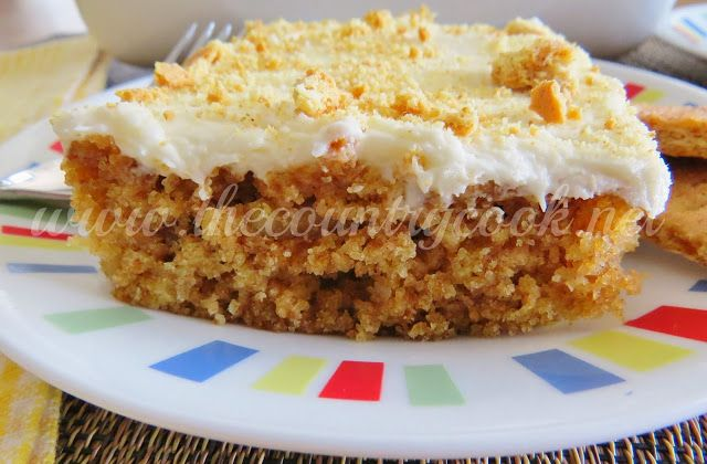Graham Cracker Cake - The Country Cook