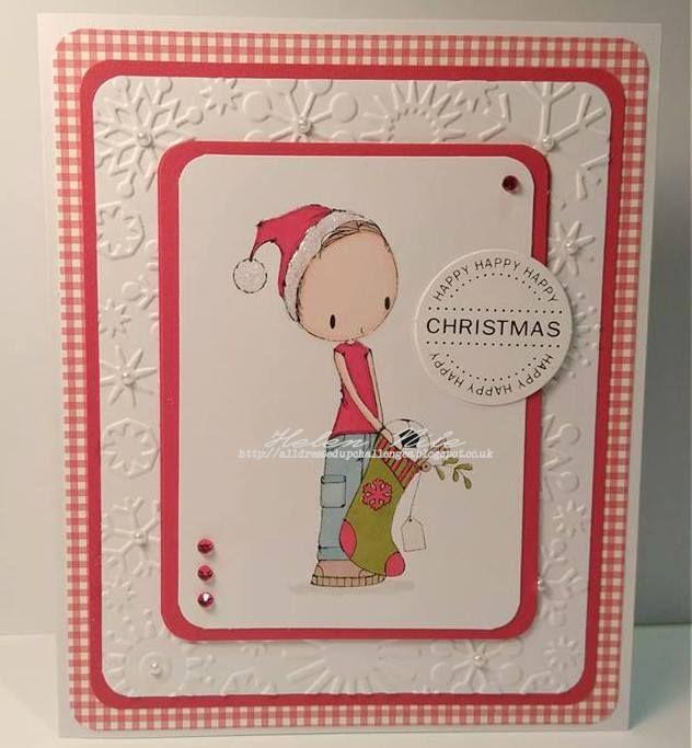DT Inspiration - Boys Christmas Stocking - http://alldressedupchallenges.blogspot.co.uk/