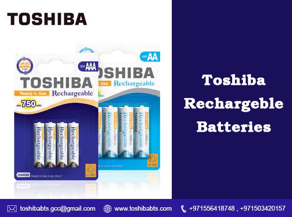 Aa And Aaa Rechargeable Batteries Rechargeable Batteries Toshiba Batteries