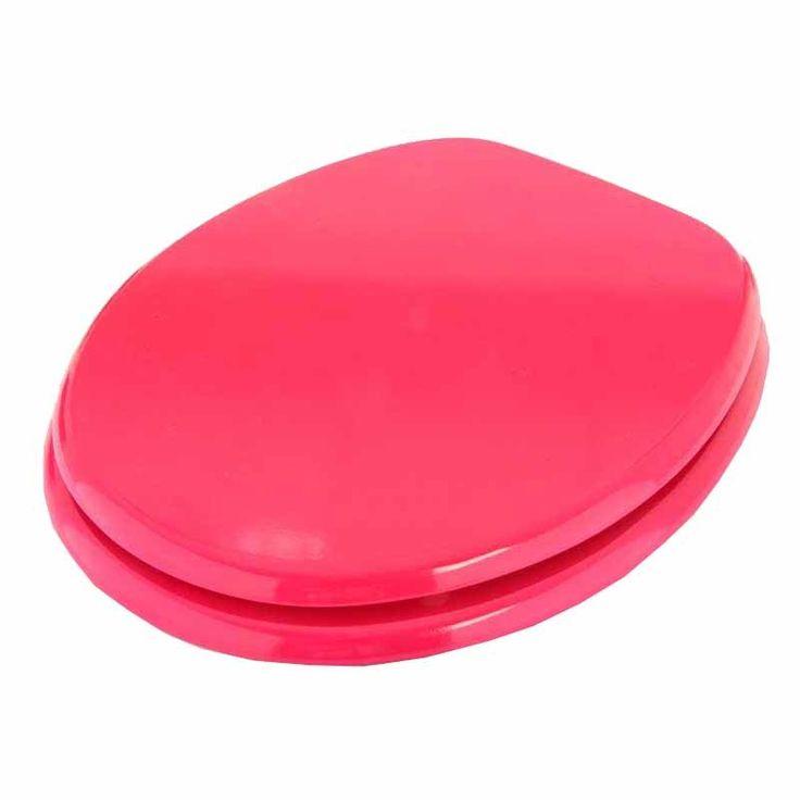 Disponible sur Boutiquedubain.com Abattant WC Luxe Framboise