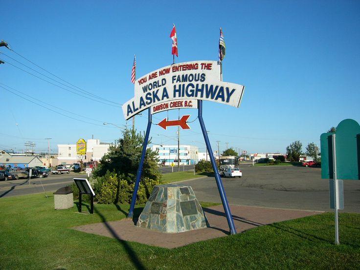Alaska Highway Mile Zero