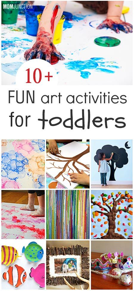 top 10 creative art projects for toddlers: Keeping up with a toddler is hard work. For her, everything is new and exciting. Your real task as a mother now is to keep your little genius busy.