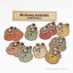 Mr.Dandy DARUMA -lucky rainbow-