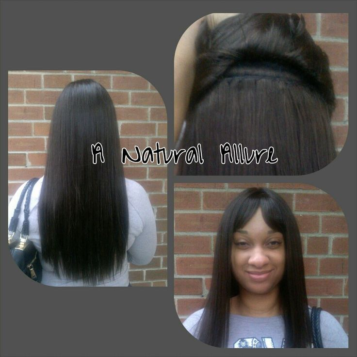 """Full sew-in (no leave-out) using Outre BEAT Brazilian Remi in 18""""  www.anaturalallure.com"""