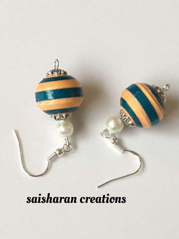 Quiling Earrings by papersandpassions on Etsy