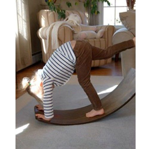 I wish I could have this for my home visits!!!!  I love the balance board!  I have seen it used in a Pre K setting and the children LOVED it.  Play some soothing music and the children just sway back and forth and learn how to balance...it was awesome.