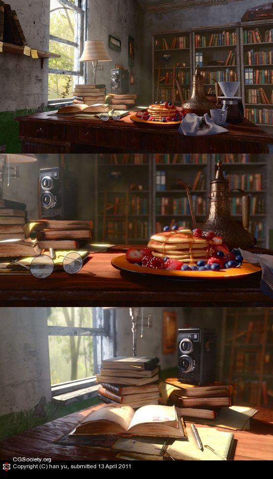 a Day by han yu   3D   CGSociety