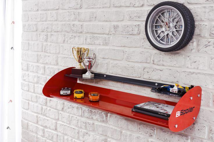 Cilek Champion Racer Wandregal Für noch mehr Übersicht und zusätzliche Präsentationsfläche brandheißer Motorenbücher und Miniatur - Automodelle bietet sich dieses große Wandregal der Champion Racer - Kollektion an.    Dieses... #kinder #kinderzimmer #wandregal #cilek