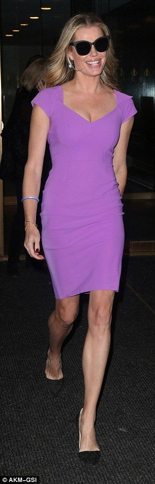 Look lovely in lilac in Chiara Boni #DailyMail  Click 'Visit' to buy now