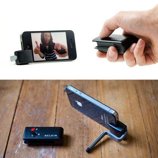 Go-Go-Gadget iPhone Camera Shutter Remote — From Belkin via @Photojojo ♥s Photography