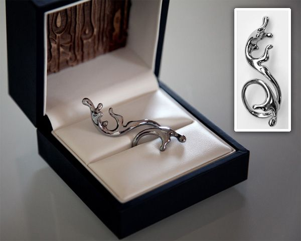 I love the 3-dimensionality of this ring!